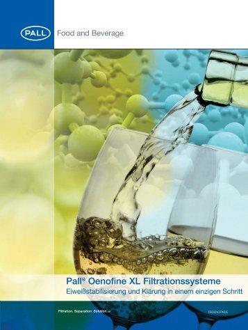 Oenofine XL Filtration Systems (German ... - Pall Corporation (PLL)