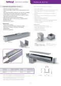 Perfiles de aluminio - Fullwat - Page 5