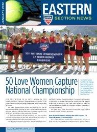 50 Love Women Capture National Championship - USTA.com