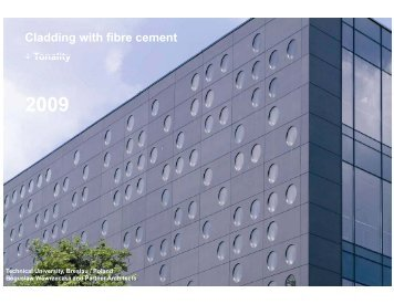 Cladding with fibre cement_2009