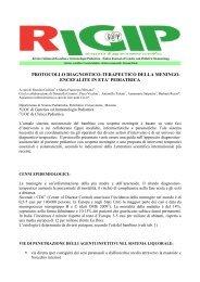 Meningo-Encefalite in età pediatrica - Genetica e Immunologia ...