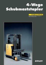 4-Wege Schubmaststapler