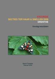 excursie secties ter haar & snellen 2009 drenthe - Vlindernet