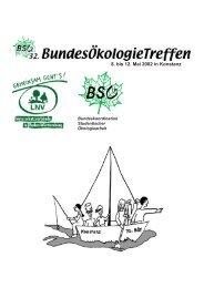 Reader - Bundeskoordination Studentischer Ökologiearbeit