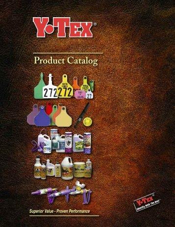 Y-TEX Catalog 1/07 - Y-Tex Corporation