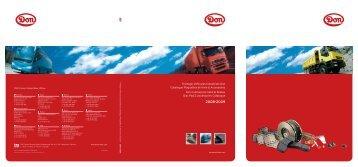 Freinage Véhicules Industriels Don Catalogue Plaquettes de frein ...