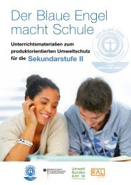 Download Unterrichtsmaterialien für die ... - Der Blaue Engel