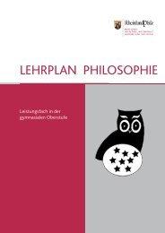 Philosophie - Gymnasien in Rheinland-Pfalz