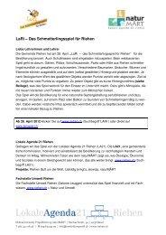 LaRi für Lehrerinnen und Lehrer - Riehen