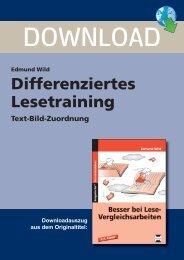 3260DA2_Differenziertes Lesetraining - Text-Bild-Zuordnung - Persen