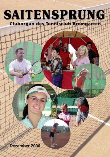 Jahresrückblick - Tennisclub Bremgarten