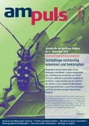 Bulletin für die forstliche Bildung Nr. 2 . September 2012 - Eva Holz ...