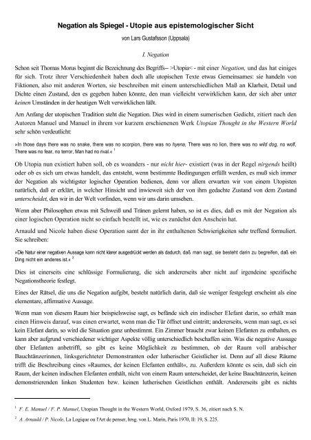 Utopie Und Geschichte Pdf Dokument 1