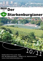 Harald Franck - FC Starkenburgia Heppenheim