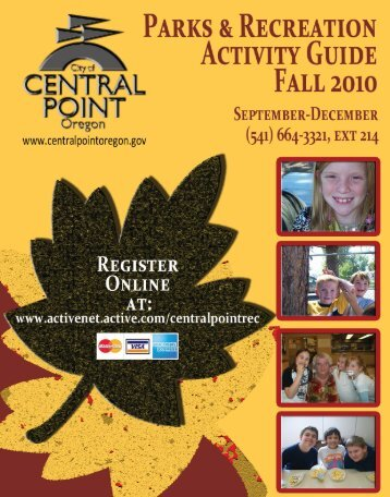 Volunteer Opportunities - the City of Central Point