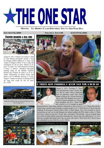 kanmah thanwg - The One Star News