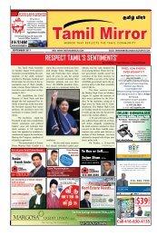 Tel - The Tamil Mirror
