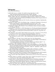 Bibliography - The Wisdom Page