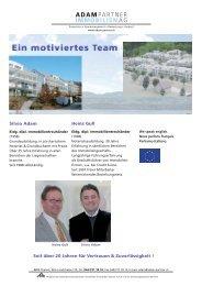 Adam & Partner, Immobilien AG