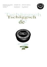 Ausgabe vom Mai 2012 - EHC Thalwil