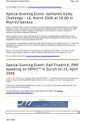 Special Evening Event - PMI® Switzerland Chapter - Page 2