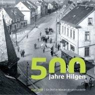 Festschrift 500 Jahre Hilgen - in Hilgen