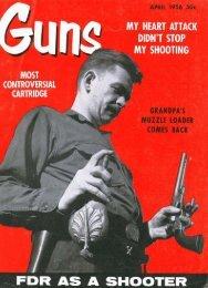 GUNS Magazine April 1956
