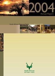 SANPARKS REPORT COVER SPREAD