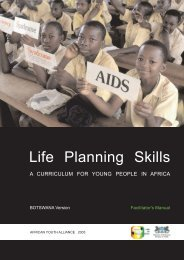 life planning skills - HIV/AIDS Clearinghouse