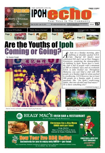 Issue 157 - Ipoh Echo