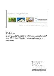Kanzlei Dr. Salfer & Partner - Sachwert-Center Bremen