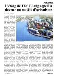 Concours de jeunes talents du cirque du Laos, du ... - Le Rénovateur - Page 7