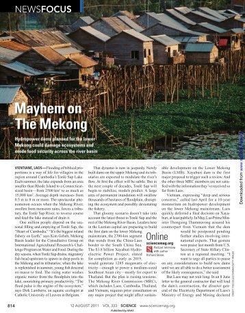 Mayhem on The Mekong - University of Nevada, Reno