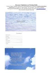 Tauf- und Trauscheine - Theologische Buchhandlung Jost AG