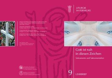 Liturgie im Fernkurs, herausgegeben von den Liturgischen
