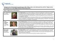 Liste der Delegierten an die Abgeordnetenversammlung - Mission 21