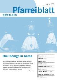 Drei Könige in Kerns - Kirche Obwalden