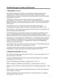 Max-Josef Schuster - Theologische Fortbildung