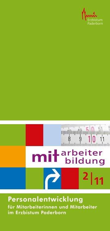 Personalentwicklung - Erzbistum Paderborn