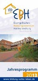 Jahresprogramm - Heimvolkshochschule Hermannsburg