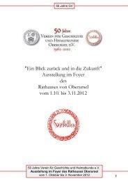 Weil - Verein für Geschichte und Heimatkunde Oberursel e.V.