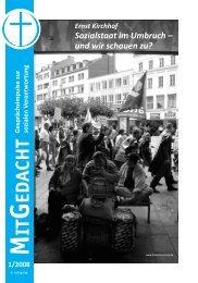 Sozialstaat im Umbruch - und wir schauen zu? - Bund Freier ...