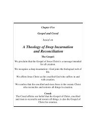 A Theology of Deep Incarnation and Reconciliation - Season of ...