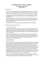 Die Kinderbibel des Johannes Melchior - Sepher-Verlag Herborn