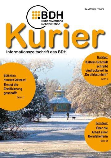 Ausgabe 1/2 2010 - BDH