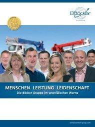 menschen. leistung. leidenschaft. - Albert Böcker GmbH & Co. KG