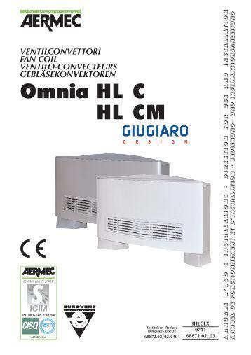 Galletti Fan Coil Manual