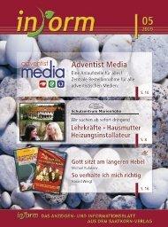 www.adventist-media.de Gemeinsamer Online-Shop ab ... - INFORM