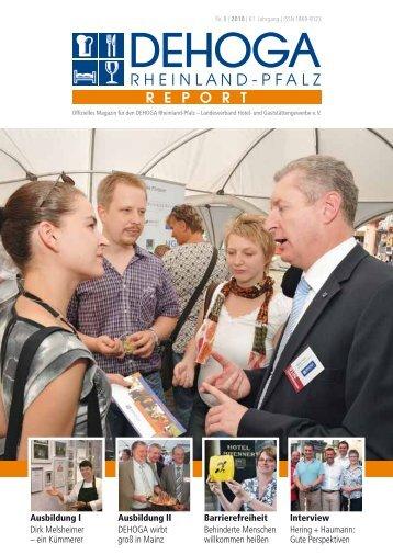 Ausbildung I Dirk Melsheimer - DEHOGA Rheinland-Pfalz