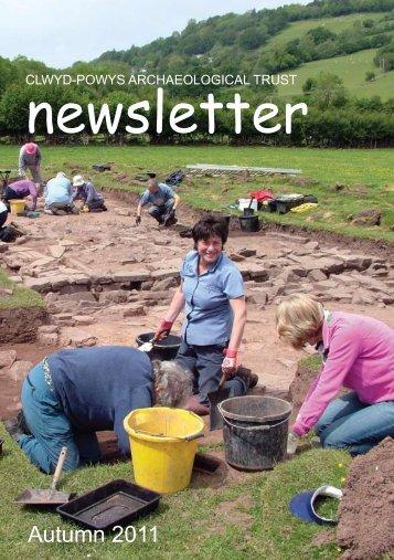 newsletter - Clwyd-Powys Archaeological Trust